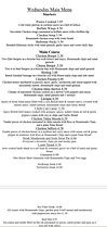 Wednesdays MEALS available Booking advis