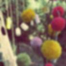 Pom poms and jars.jpg Of course.jpg
