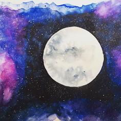 Happy full moon 🌕  #artist #adelaidehil