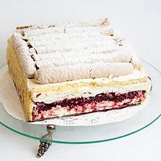Crunchy Cranberry Cake