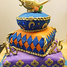 Arabian Nights Theme Cake