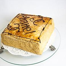Chanel Cappuccino Cake
