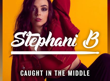 Stephani B's new single 'Caught In The Middle is OUT on FRIDAY!