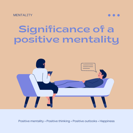Achieving a Positive Mentality