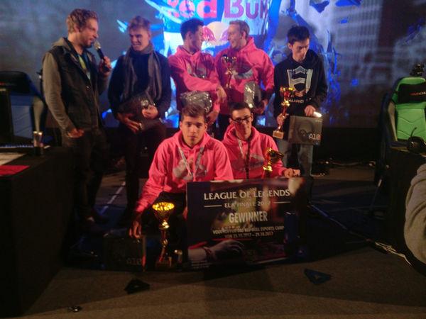 Alpaka esports GameCity2017 Gewinner Foto