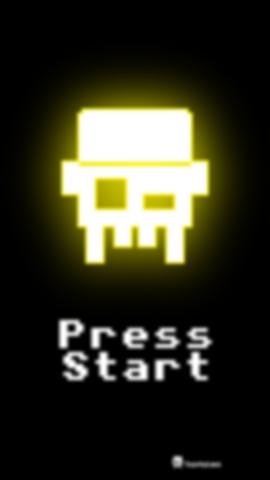 Tentelian Smartphone Hintergrundbild Press Start