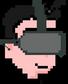 Pixel VR Kopf
