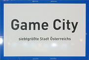 Game City Schild, 2017