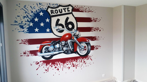Chambre route 66