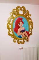 portrait d'Arielle la petite sirène