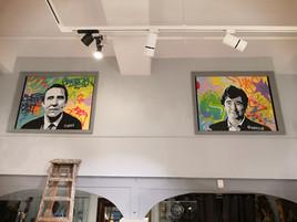 Portraits sur toiles
