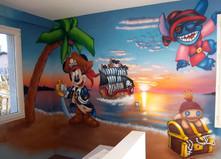 Mickey le pirate