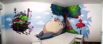 Une nuit dans les Studio Ghibli