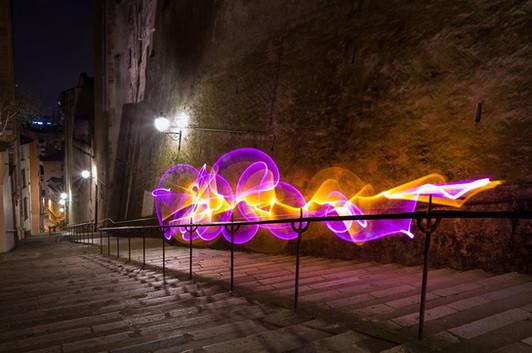 Lyon 2016 - Light painting