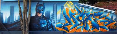 Fresque Batman