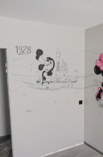 Mickey Mouse en 1928