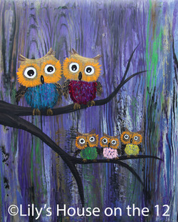 easy Owl Family