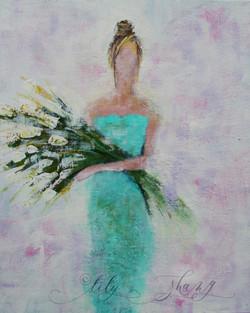 Spring Flower Lady