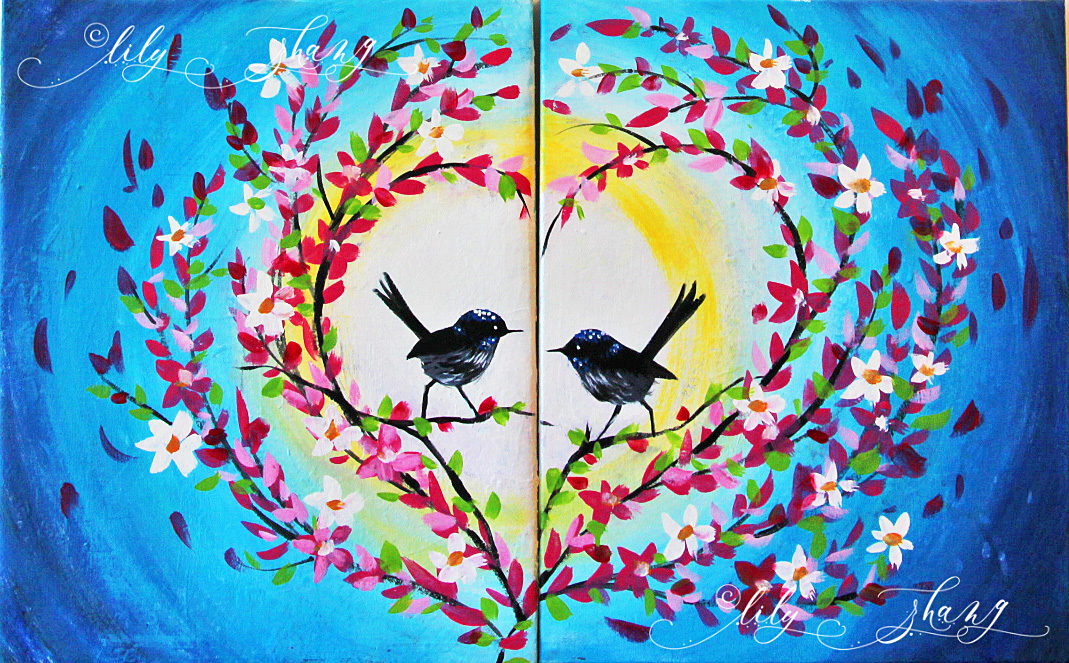 Birds in Heart