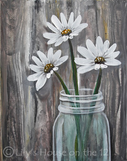 Daisy Jar