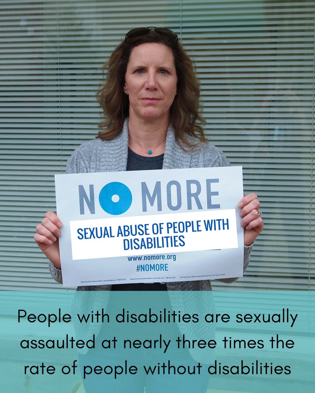 No More Campaign-People with Disabilities