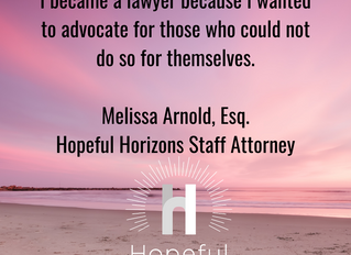 Hopeful Horizons Welcomes New Staff Attorney
