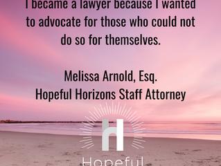 Hopeful Horizons Welcomes New Staff Attorney