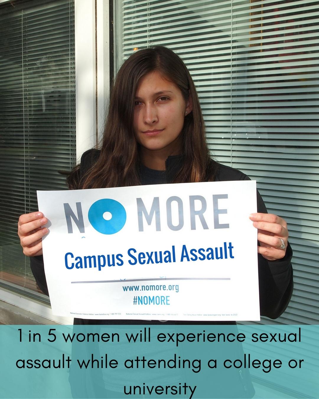 No More Campaign-Campus Sexual Assault