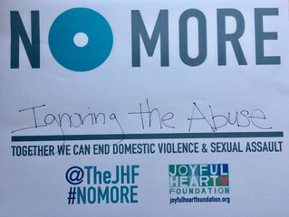 "Join us in saying ""No More"""