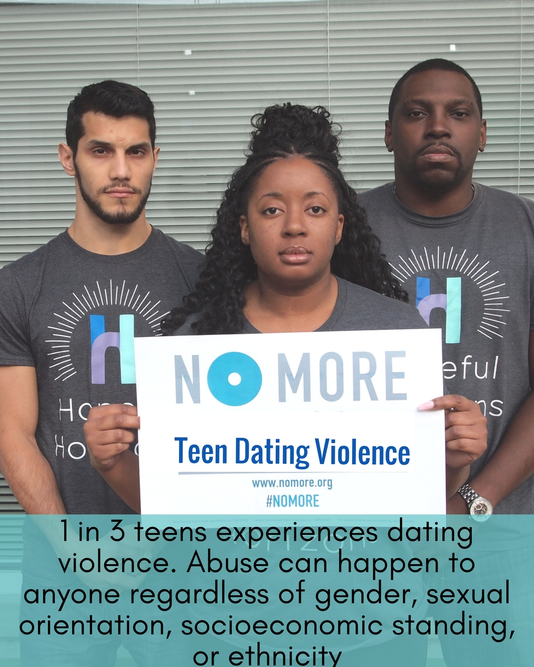 No More Campaign-Teen Dating Violence