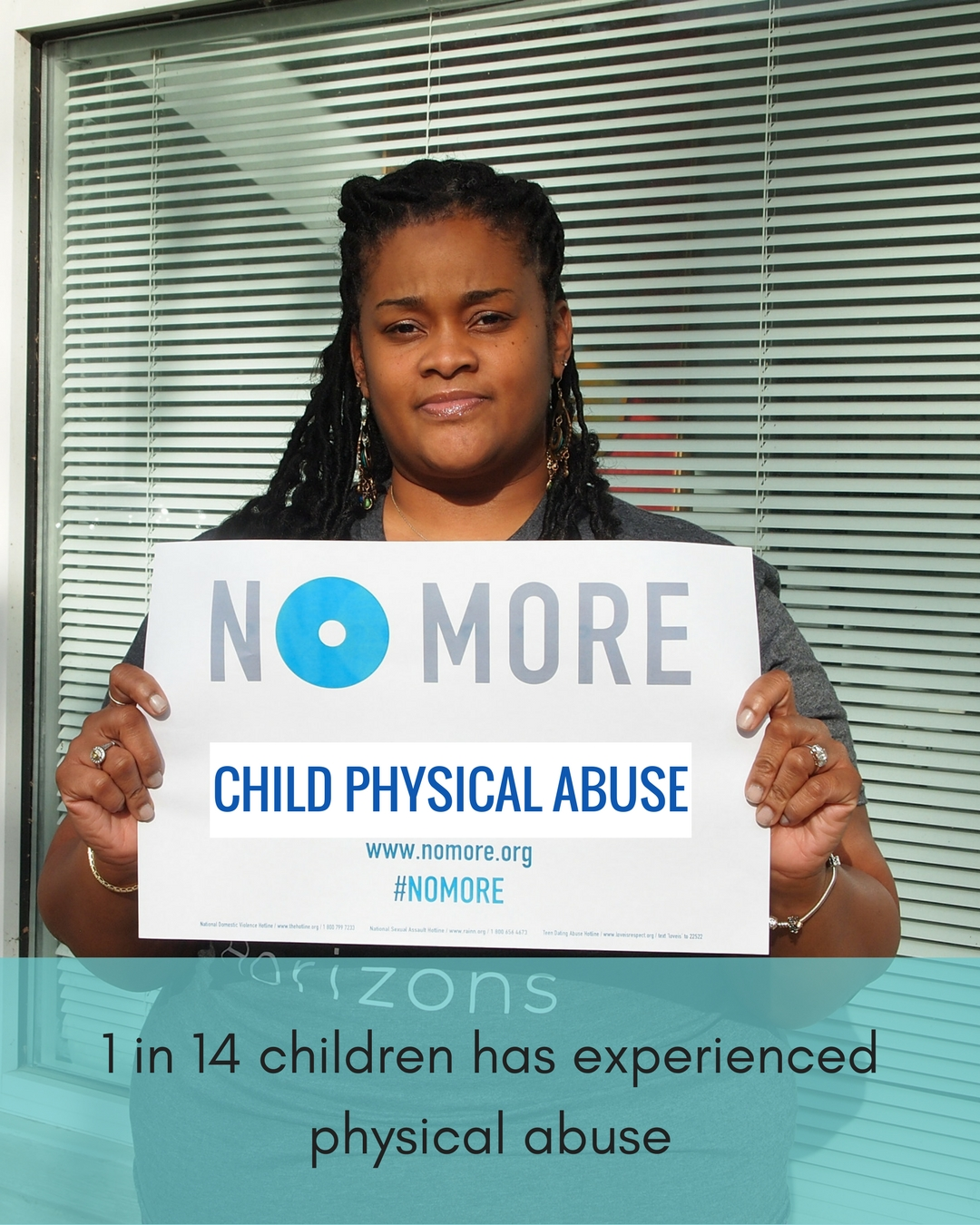 NO MORE Campaign-Child Physical Abuse