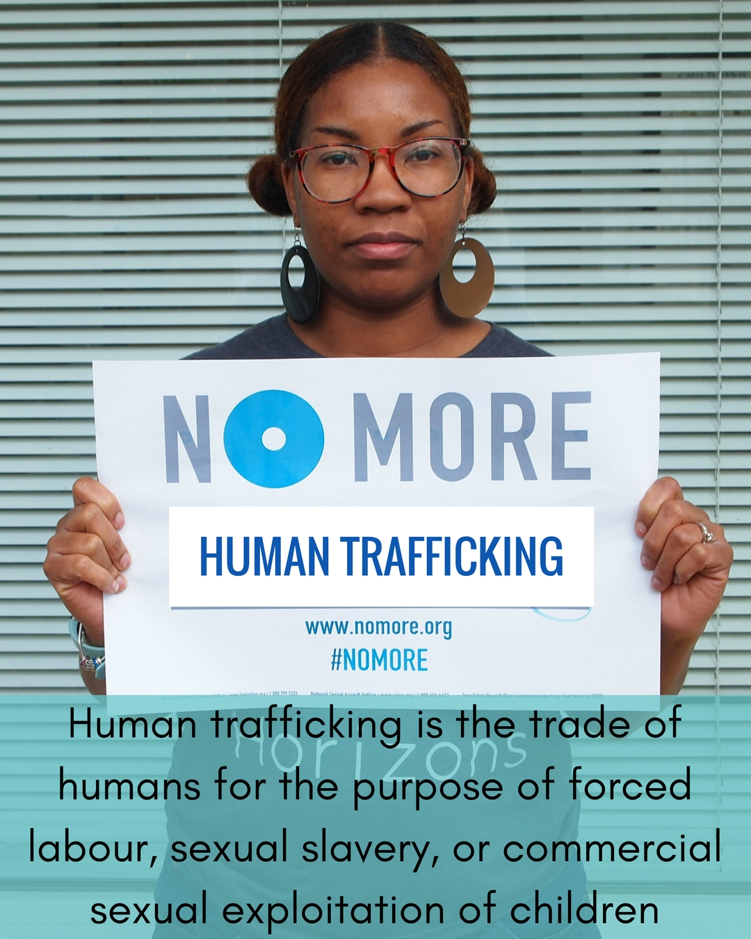 No More Campaign-Human Trafficking