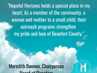 Hopeful Horizons Announces 2020 Officers for Board of Directors