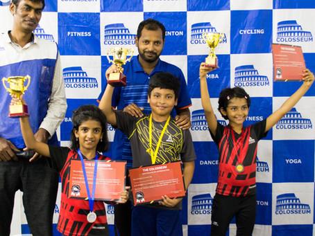 The Colosseum Junior's Battle 2019 - Badminton