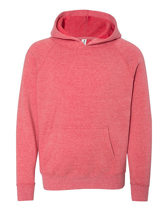 Independent Trading Co. Youth Special Blend Raglan Hooded Sweatshirt