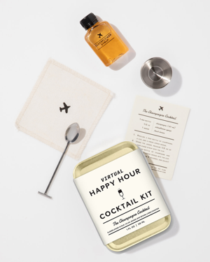 W&P Virtual Happy Hour Cocktail Kit – Champagne