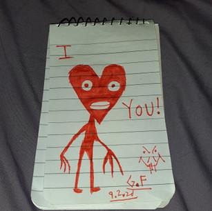 """""""Valentine's Card No. 1"""""""