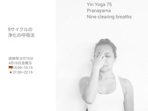9サイクルの浄化の呼吸法