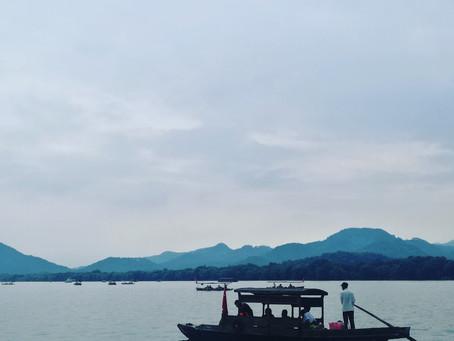 杭州 西湖と龍井