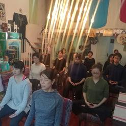 Chair Yogaと瞑想 上海
