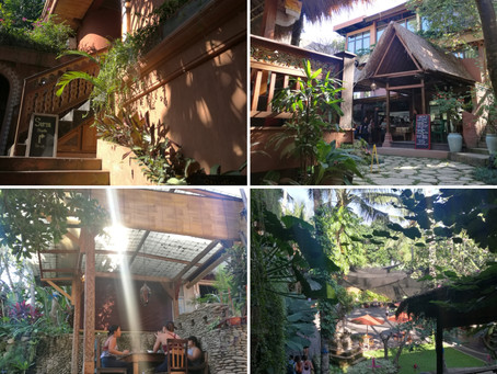 YOGA in Bali  バリ島でヨガ