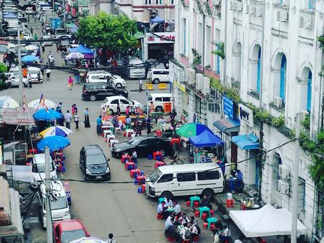 ミャンマー ヤンゴンの旅 街並み編
