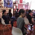 Chair Yoga と瞑想 上海