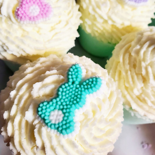 Bunny Butts Cupcake Bath Bomb