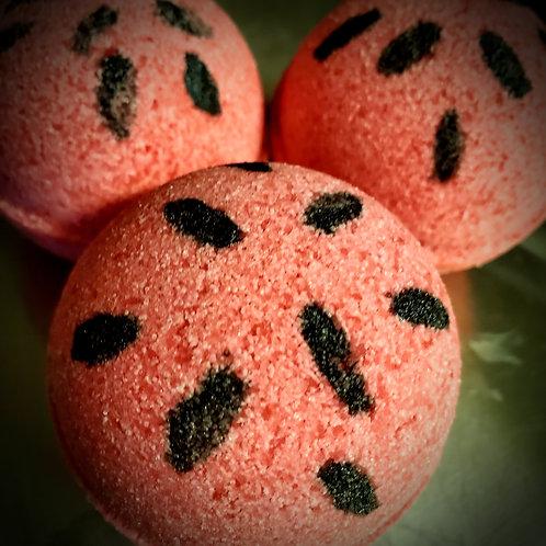 Juicy Watermelon Bath Bomb
