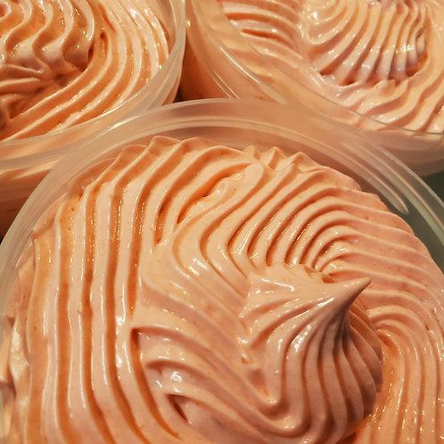 Orange Sanguine Whipped Bath/Shave Frosting 8oz