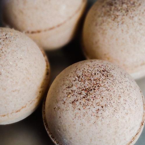 Almond Toffee Hot Cocoa Bath Bomb