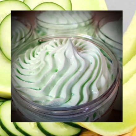 Cucumber Melon Whipped Lotion 4oz