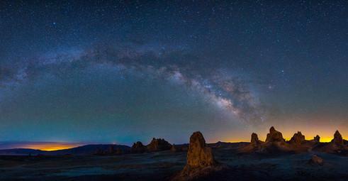 Milky Way over Trona