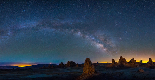 Milky Way over Trona